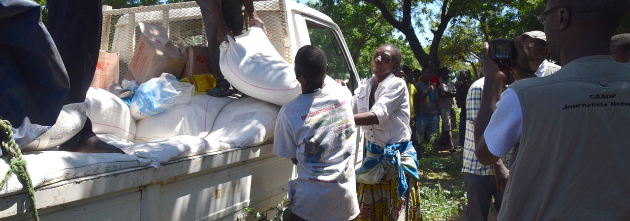 Cyclone relief in Malawi
