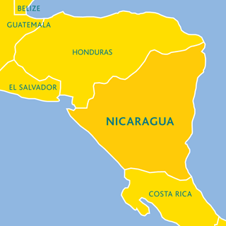 Nicaragua Country Profile Tearfund - Country map of nicaragua
